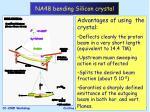 na48 bending silicon crystal