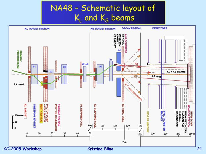 NA48 – Schematic layout of