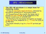 sps h8 microbeam