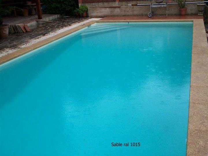 Sable ral 1015