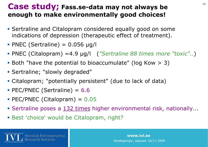 Case study;