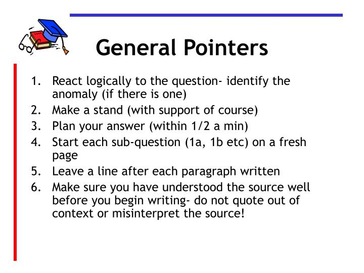 General Pointers