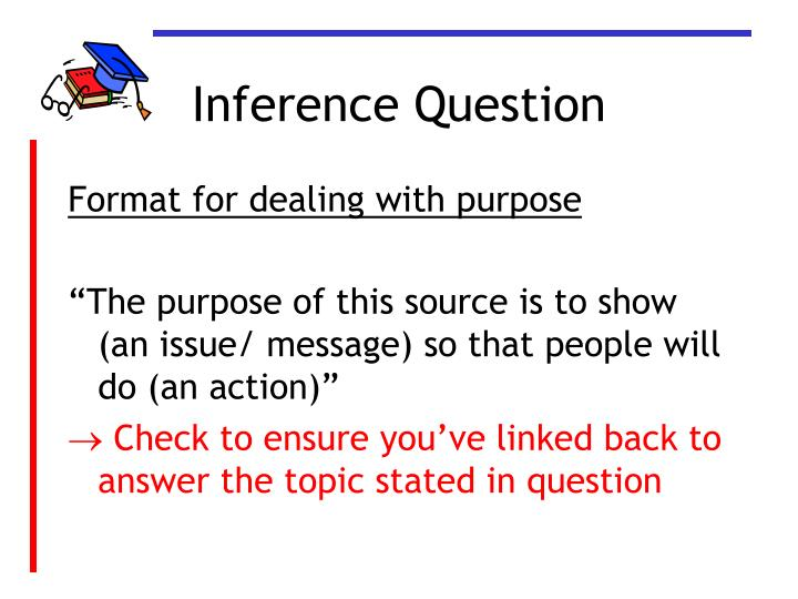 Inference Question