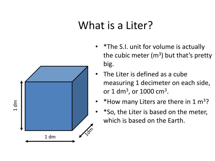 What is a Liter?