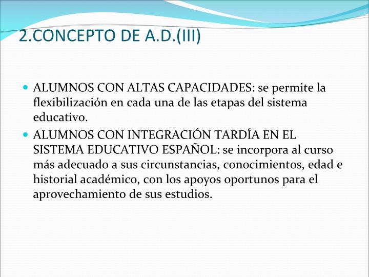 2.CONCEPTO DE A.D.(III)