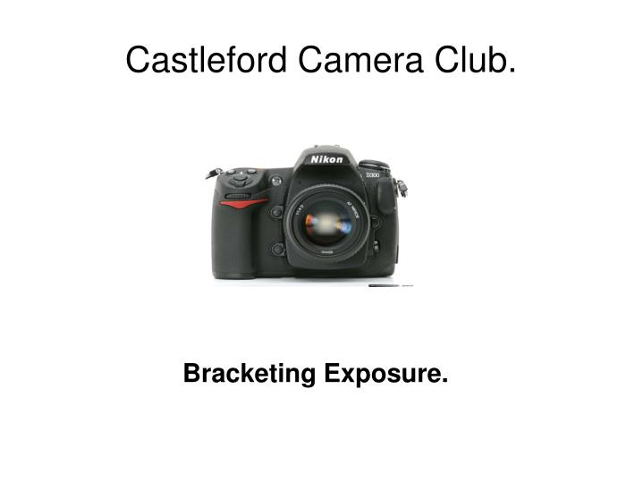 Bracketing exposure