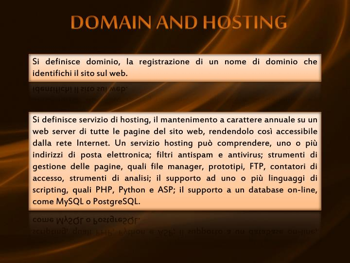 DOMAIN AND