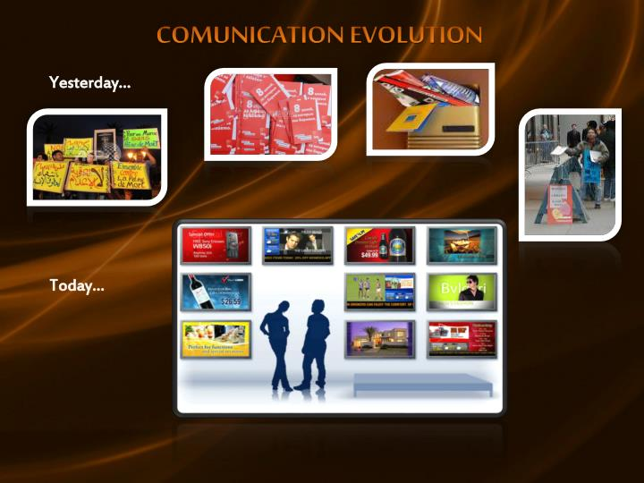 COMUNICATION EVOLUTION