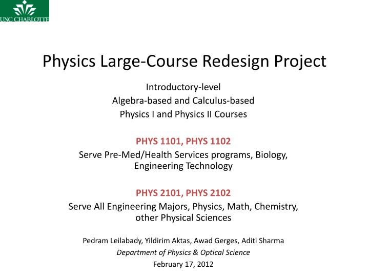 physics coursework projects