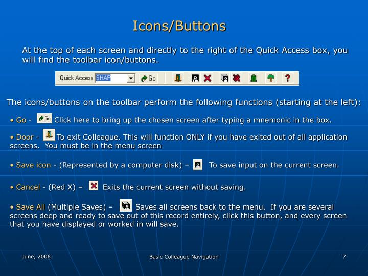 Icons/Buttons