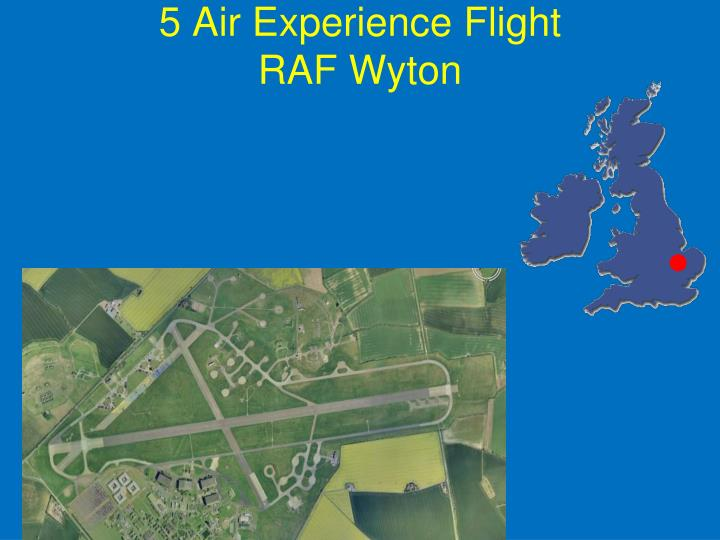 5 Air Experience Flight