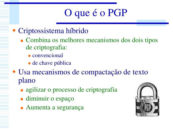 O que é o PGP
