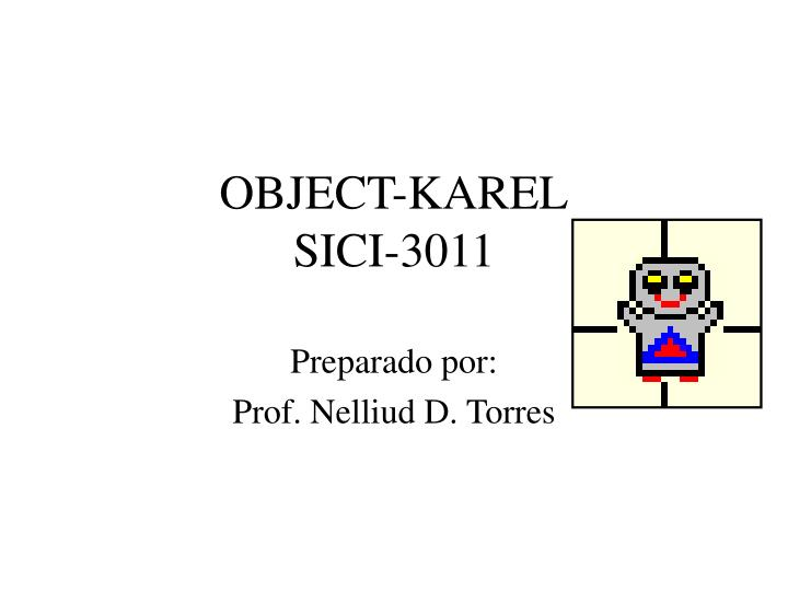 Object karel sici 3011