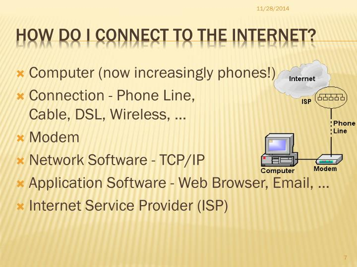 how to connect phone internet to the computer