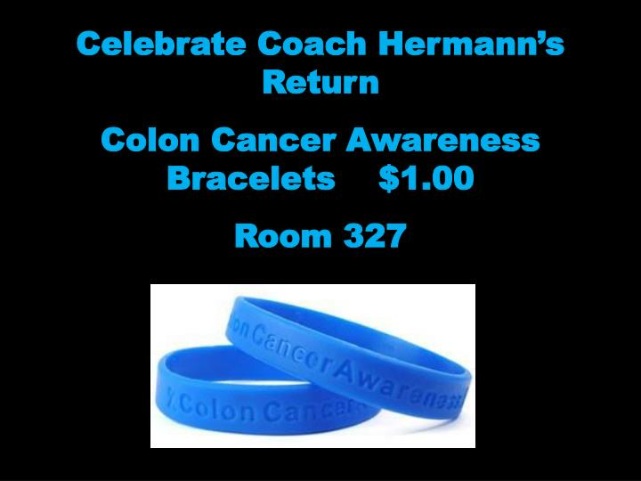 Celebrate Coach Hermann's Return