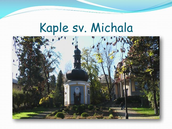 Kaple sv. Michala