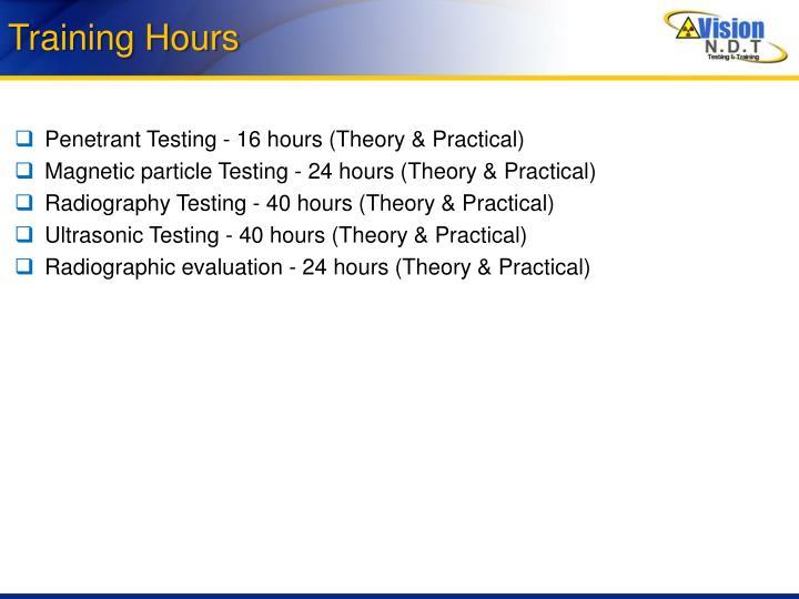 Training Hours