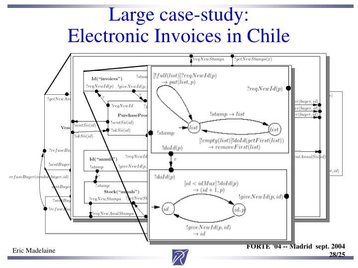 Large case-study: