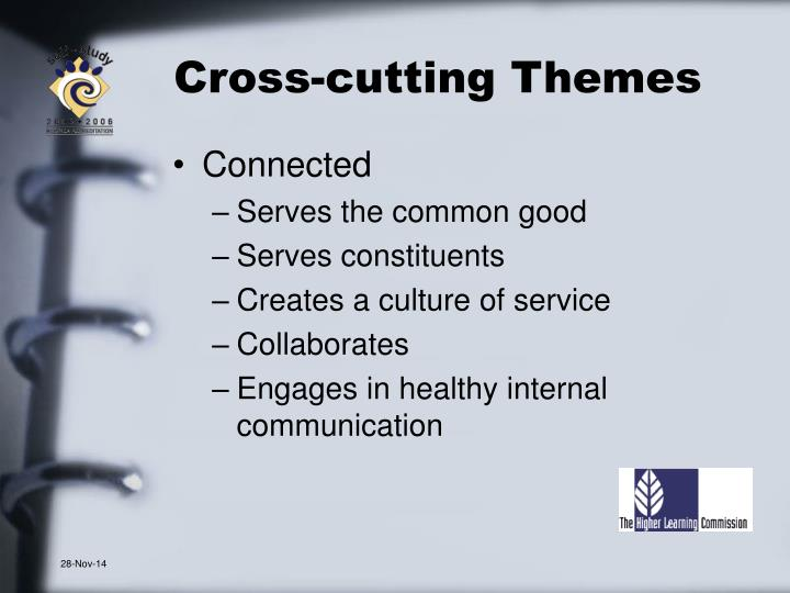 Cross-cutting Themes