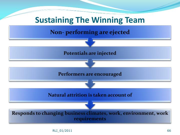 Sustaining The Winning Team