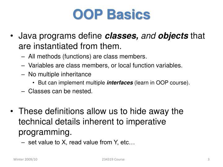 OOP Basics