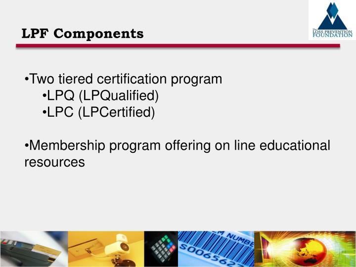 LPF Components