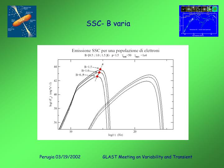 SSC- B varia