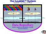 t he datamime system datamime tm data mining no noise