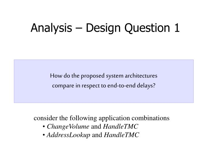 How do the proposed system architectures