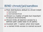 bind chroot jail sandbox