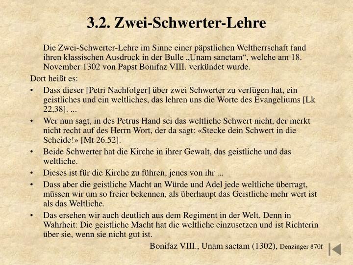 3.2. Zwei-Schwerter-Lehre