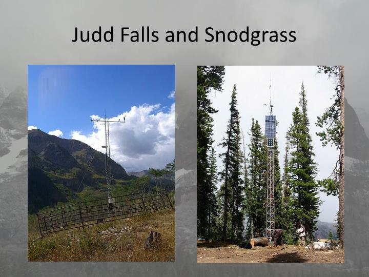 Judd Falls and Snodgrass
