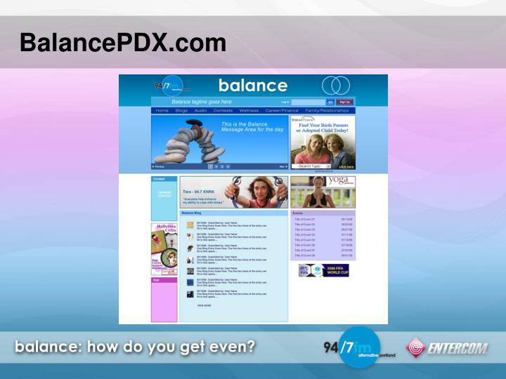 BalancePDX.com