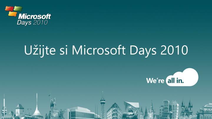 Užijte si Microsoft