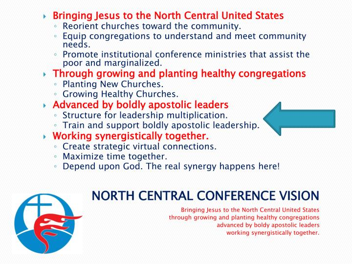 Bringing Jesus to the North Central United States