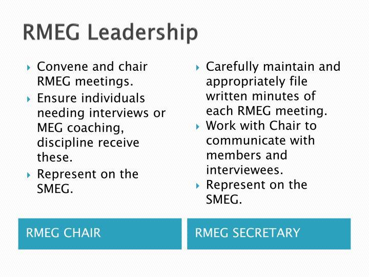 RMEG Leadership