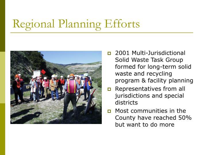 Regional Planning Efforts