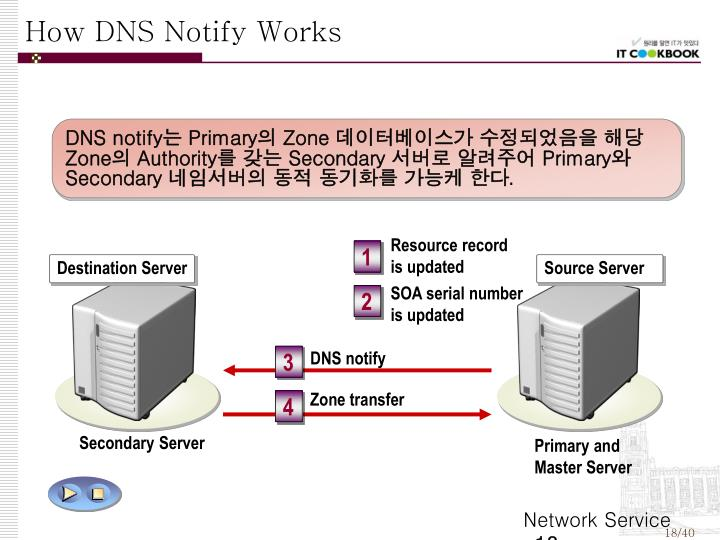 How DNS Notify Works