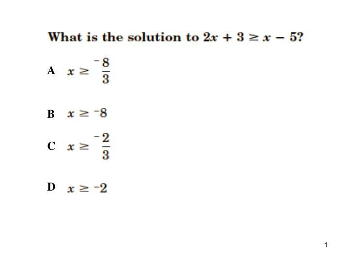 2 equations and inequalities