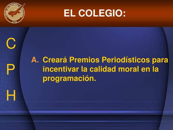 EL COLEGIO: