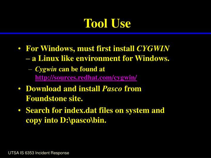 Tool Use