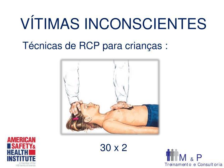 Técnicas de RCP para crianças :