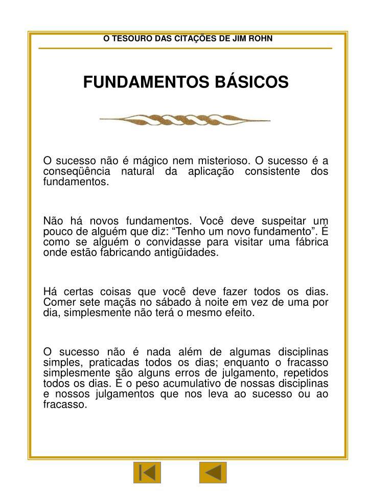 FUNDAMENTOS BÁSICOS