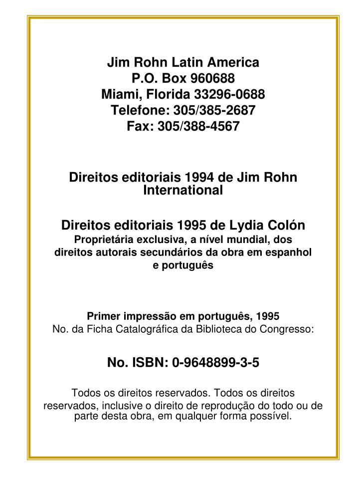 Jim Rohn Latin America