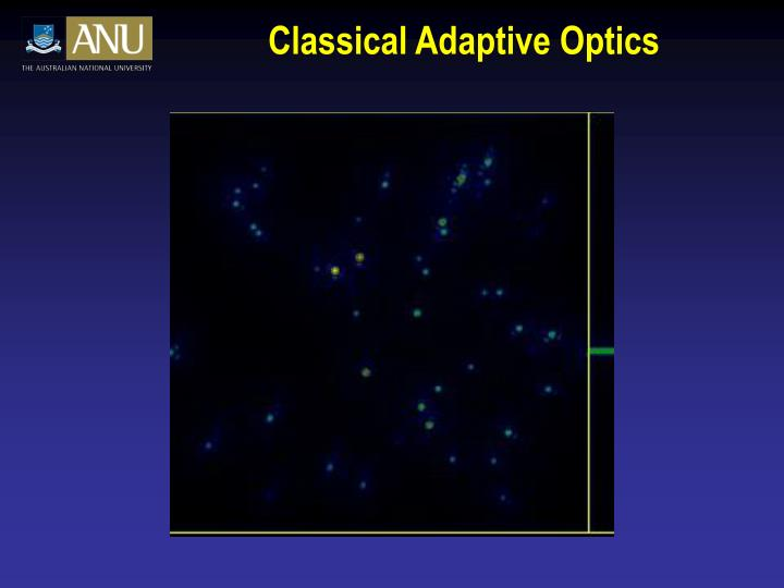 Classical Adaptive Optics