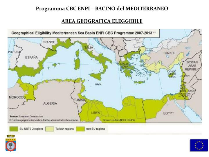 Programma CBC ENPI – BACINO del MEDITERRANEO