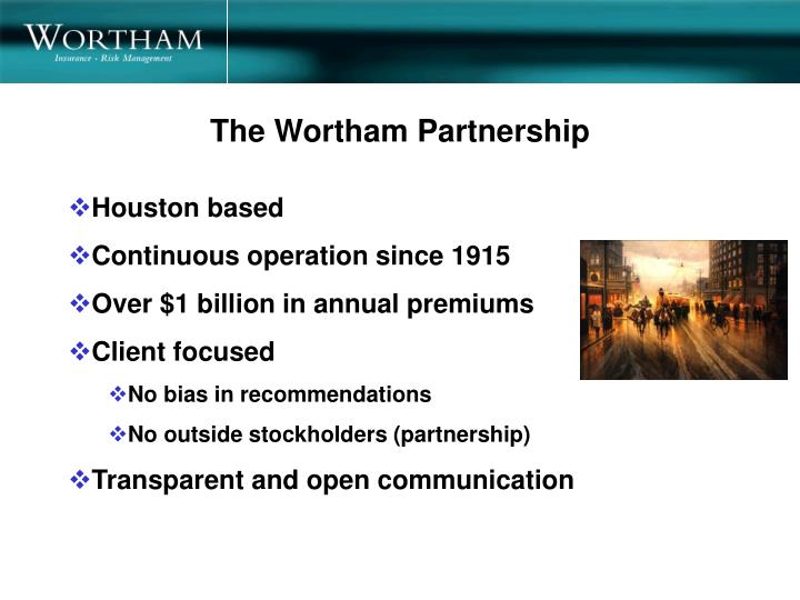 The Wortham Partnership