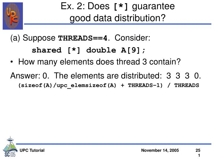 Ex. 2: Does