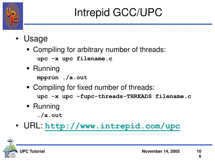 Intrepid GCC/UPC