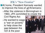 jfk s new frontier1